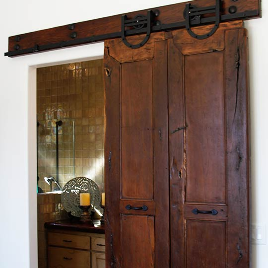 Antique Mexican Doors with Custom Installation - Custom Furniture - Casa Mexicana Imports