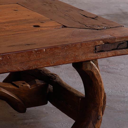 Antique Mexican Door Tables - Living Room Furniture - Casa Mexicana Imports